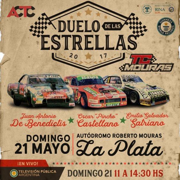 El afiche del evento del fin de semana