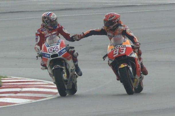 Entre estos dos se define el campeonato del MotoGP en Valencia