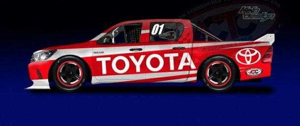 La Hilux de Toyota
