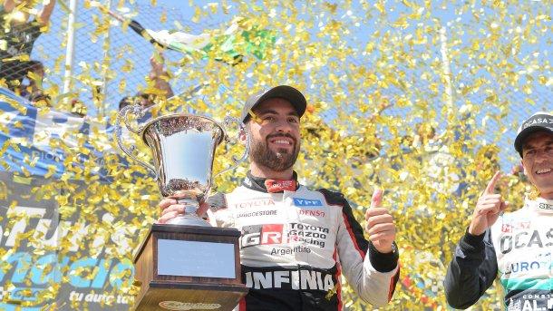 Santero , feliz con su triunfo en el TN