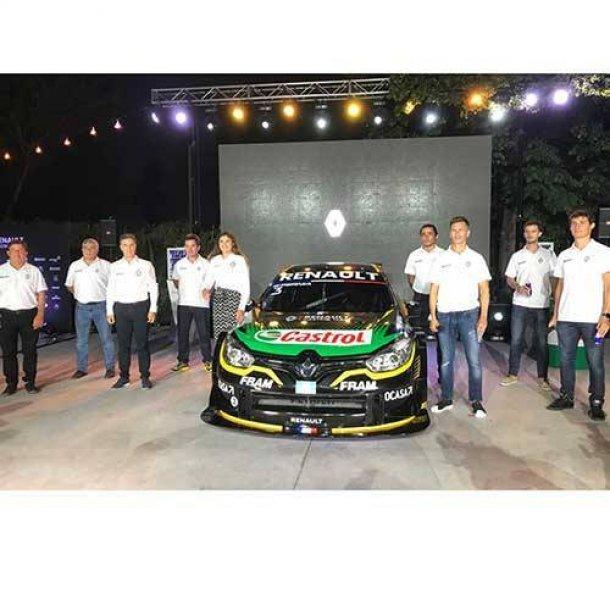 El equipo Renault se mostro en sociedad