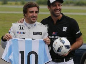 ALONSO VISITÓ ARGENTINA