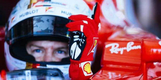 Vettel fue el mas rápido de la mañana