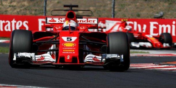 Vettel hizo vibrar a todos
