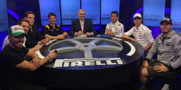 La mesa con los mejores pilotos de Argentina