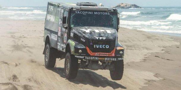 Federico Villagra esta en plena pelea por ganar el Dakar 2018