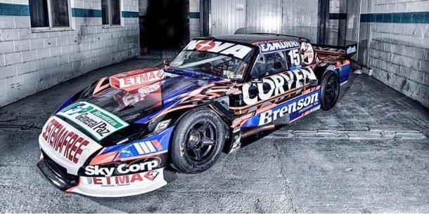 Matias Rossi presento su Ford para el 2018