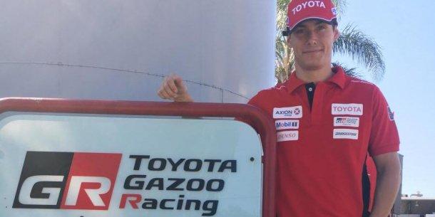 Fineschi competirá en el equipo oficial Toyota