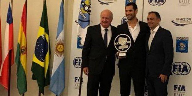 Ardusso fue premiado en Uruguay por su campeonato del Super TC2000