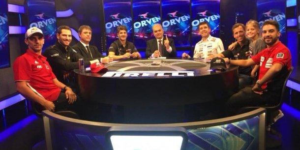 Paso un nuevo Ultima Vuelta por la pantalla de Fox Sports