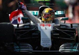 HAMILTON MANDA EN LA F1