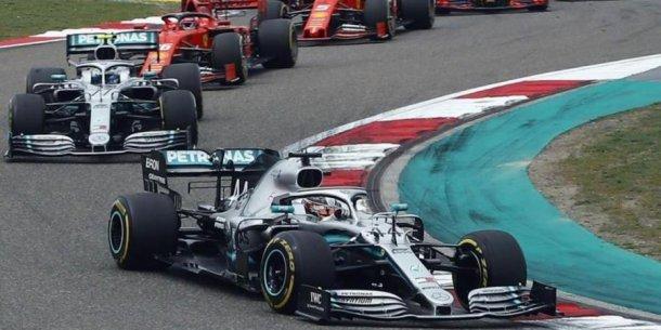 La Formula 1, suspendida.