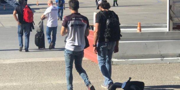 Matias Rossi y Emanuel Moriatis siempre tuvieron buena relacion fuera de la pista