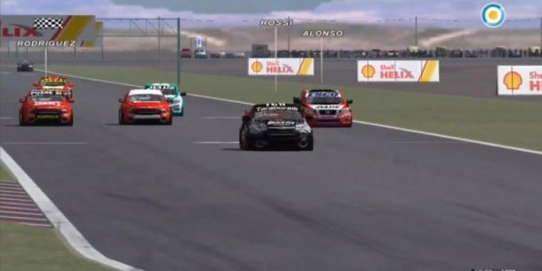 Gaston Rossi gano el TC Pick UP Virtual en Neuquen