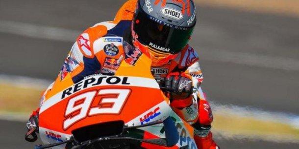 Marquez, el mejor del viernes en la vuelta del Moto GP