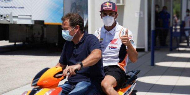 Marquez correría en Jerez luego de ser operado hace dos dias.