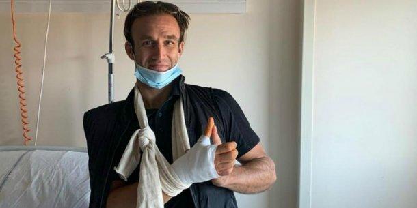 Zarco fue operado con exito ayer y sueña con correr en Austria
