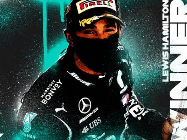Gano Lewis en la F1 en Belgica