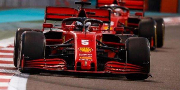 Vettel y un año para el olvido
